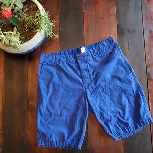 🍒 3/$25 H&M Divided navy blue chino shorts
